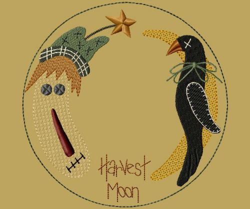 "PK011 ""Harvest Moon"" Candle Mat - Version 1"