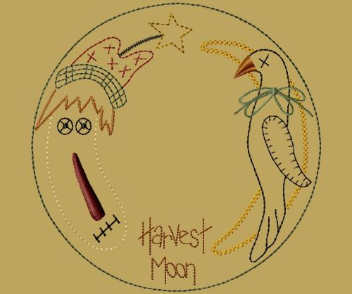 "PK012 ""Harvest Moon"" Candle Mat - Version 2"