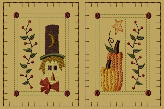 "PK111 ""Prim Fall"" Hand Towel Collection"
